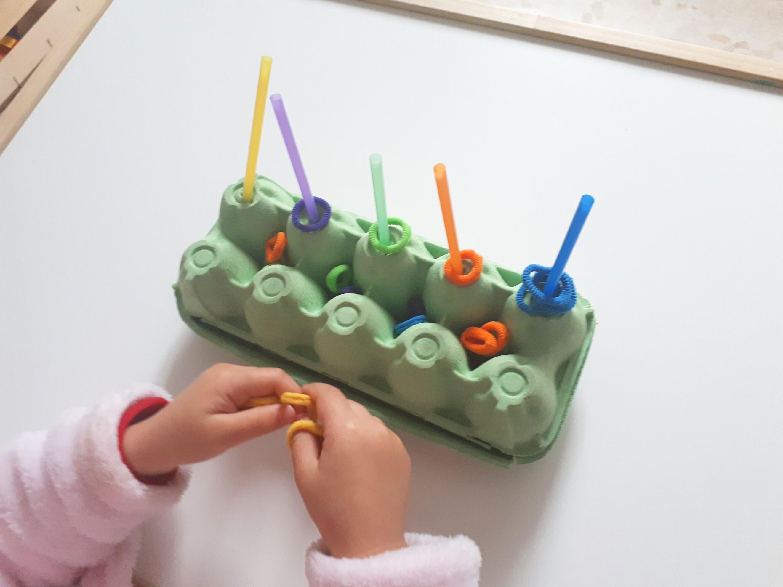 actividad motricidad fina para niños