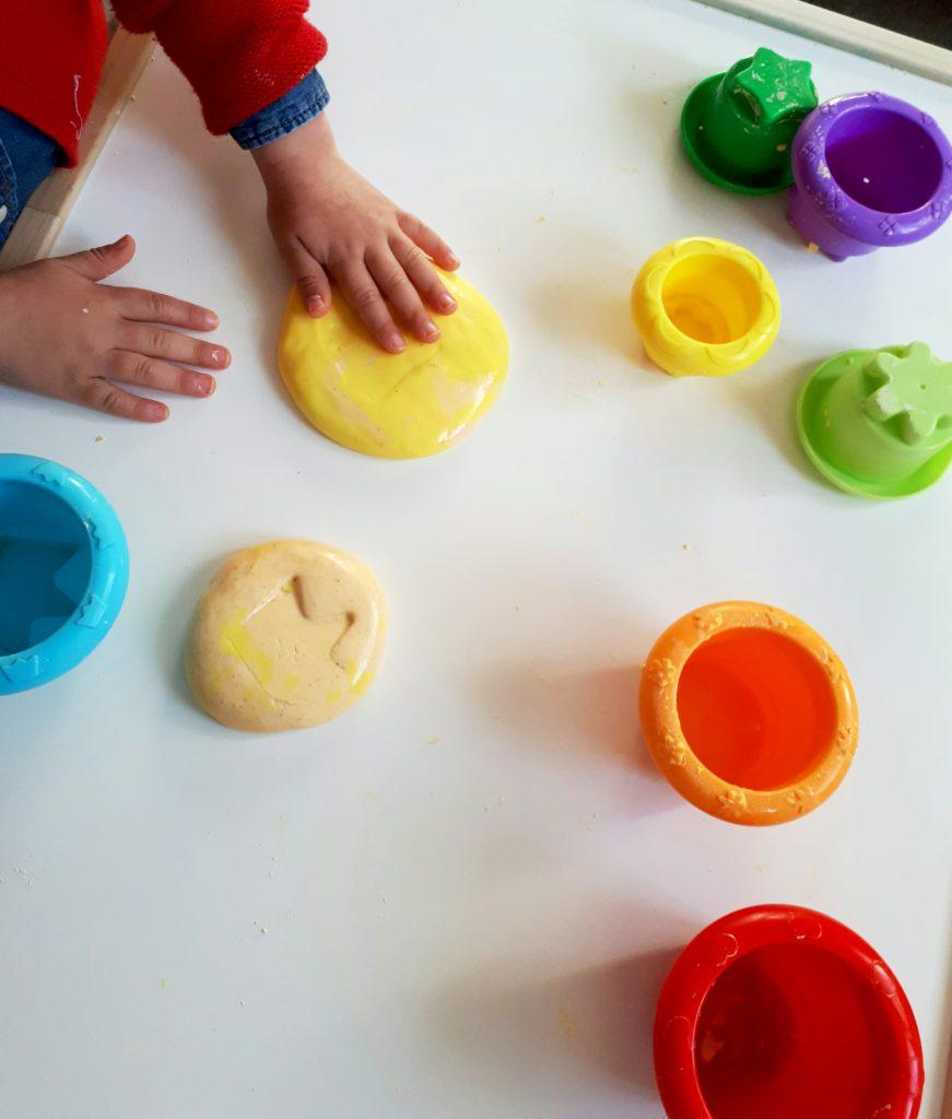 plastilina no toxica para niños