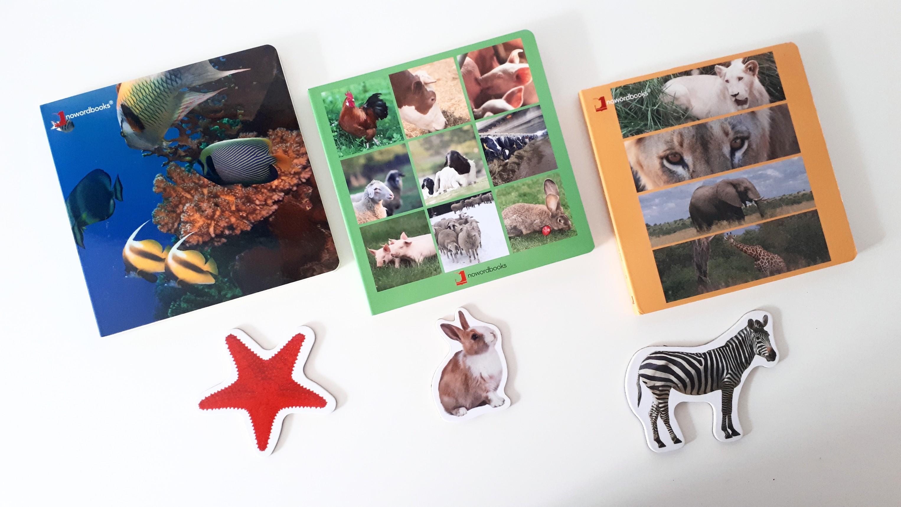 Libros animales Nowordbooks