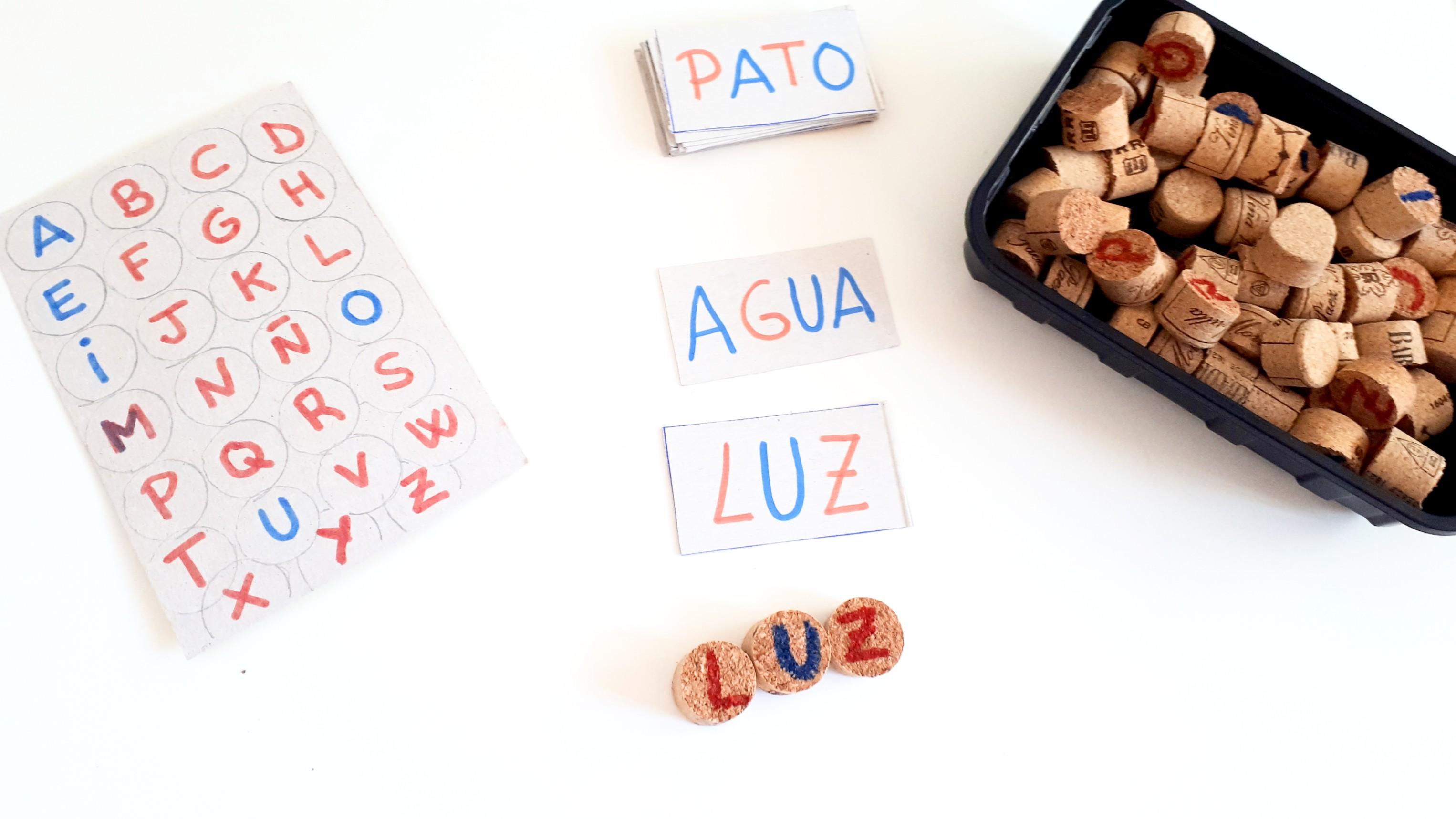 cómo hacer un abecedario