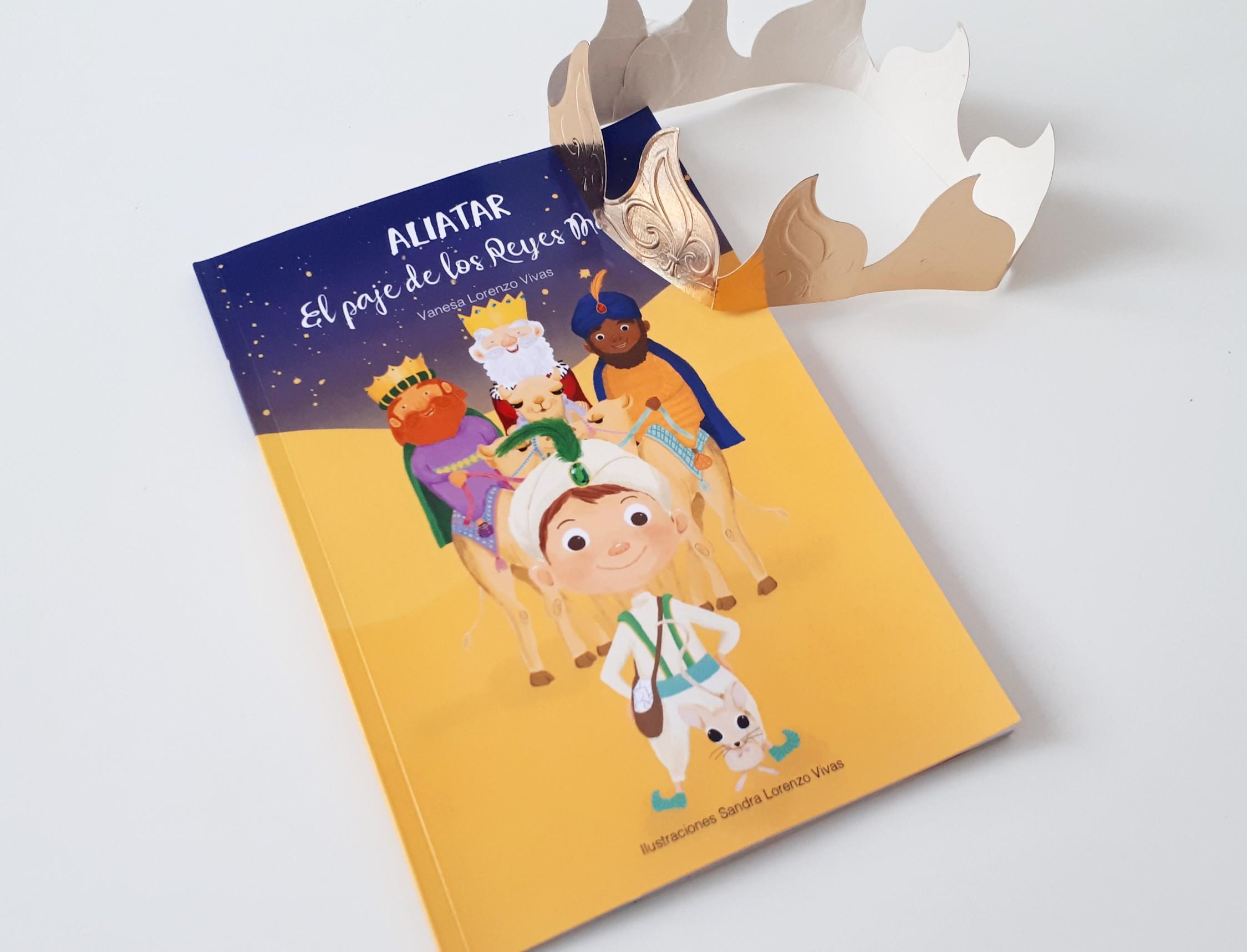 libro de navidad aliatar el paje de los reyes magos