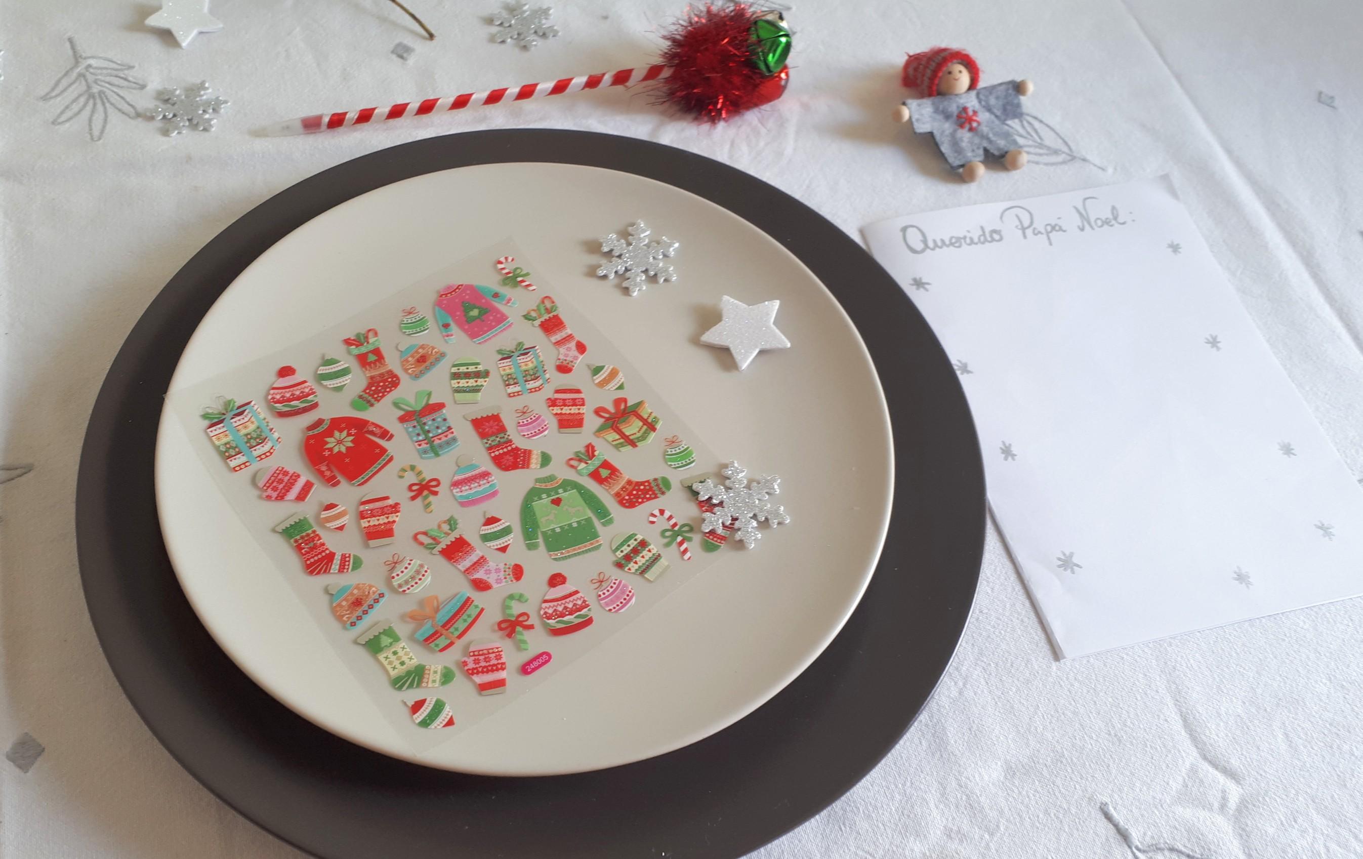 Mesa ideas Navidad niños