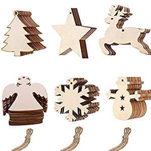 adorno navidad madera
