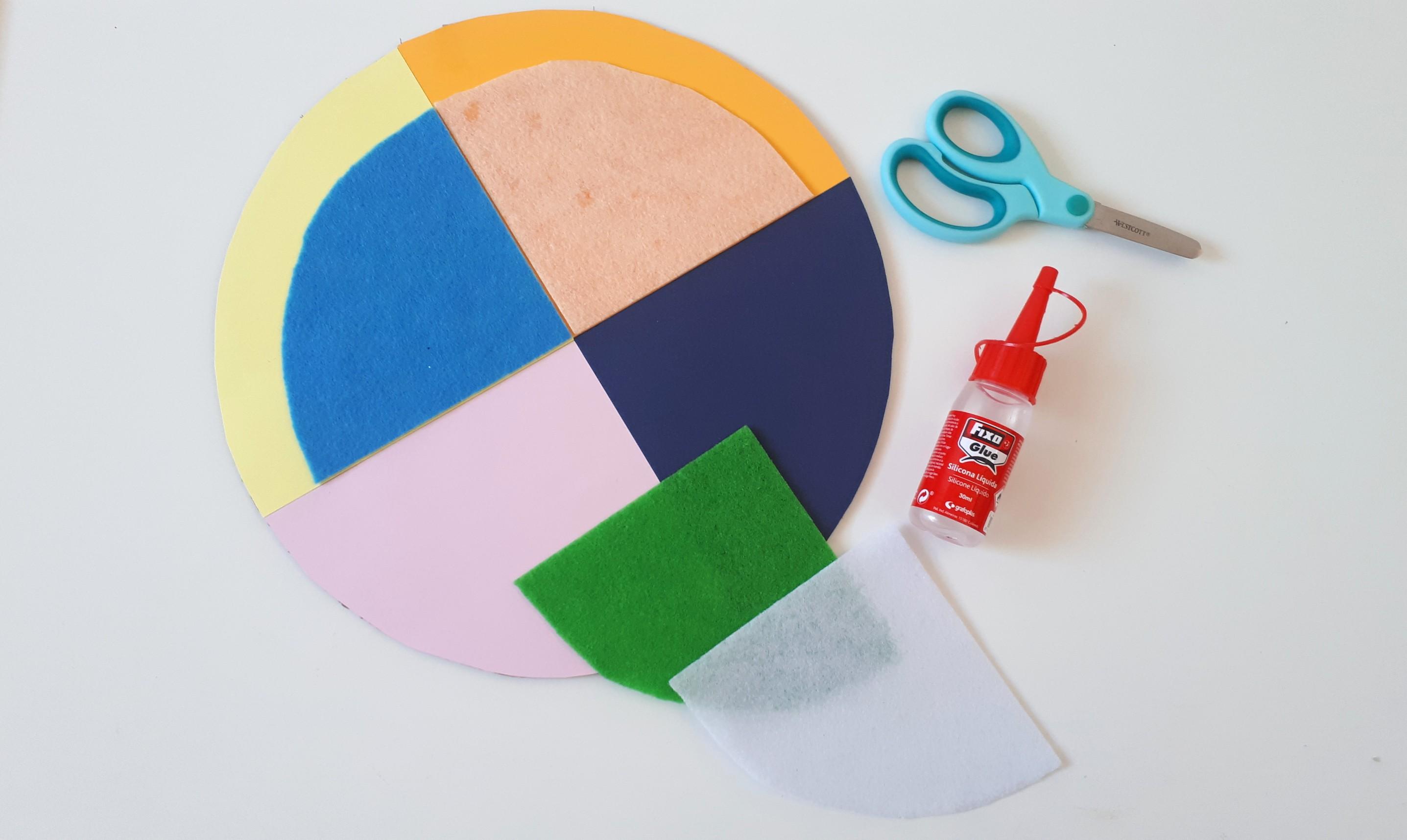 hacer calendario cuatro estaciones para niños