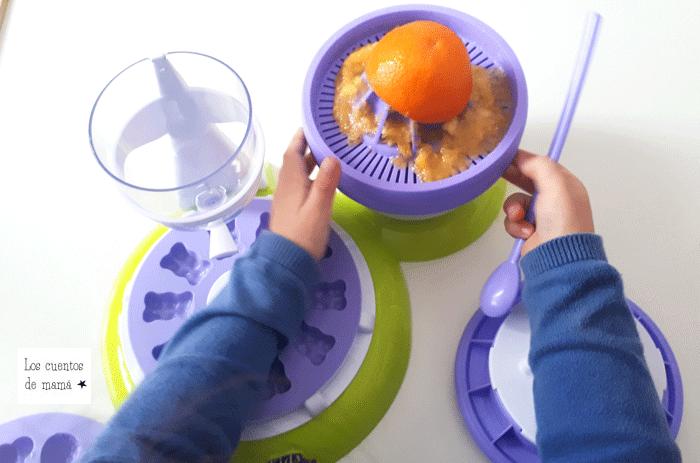 como hacer gominolas caseras