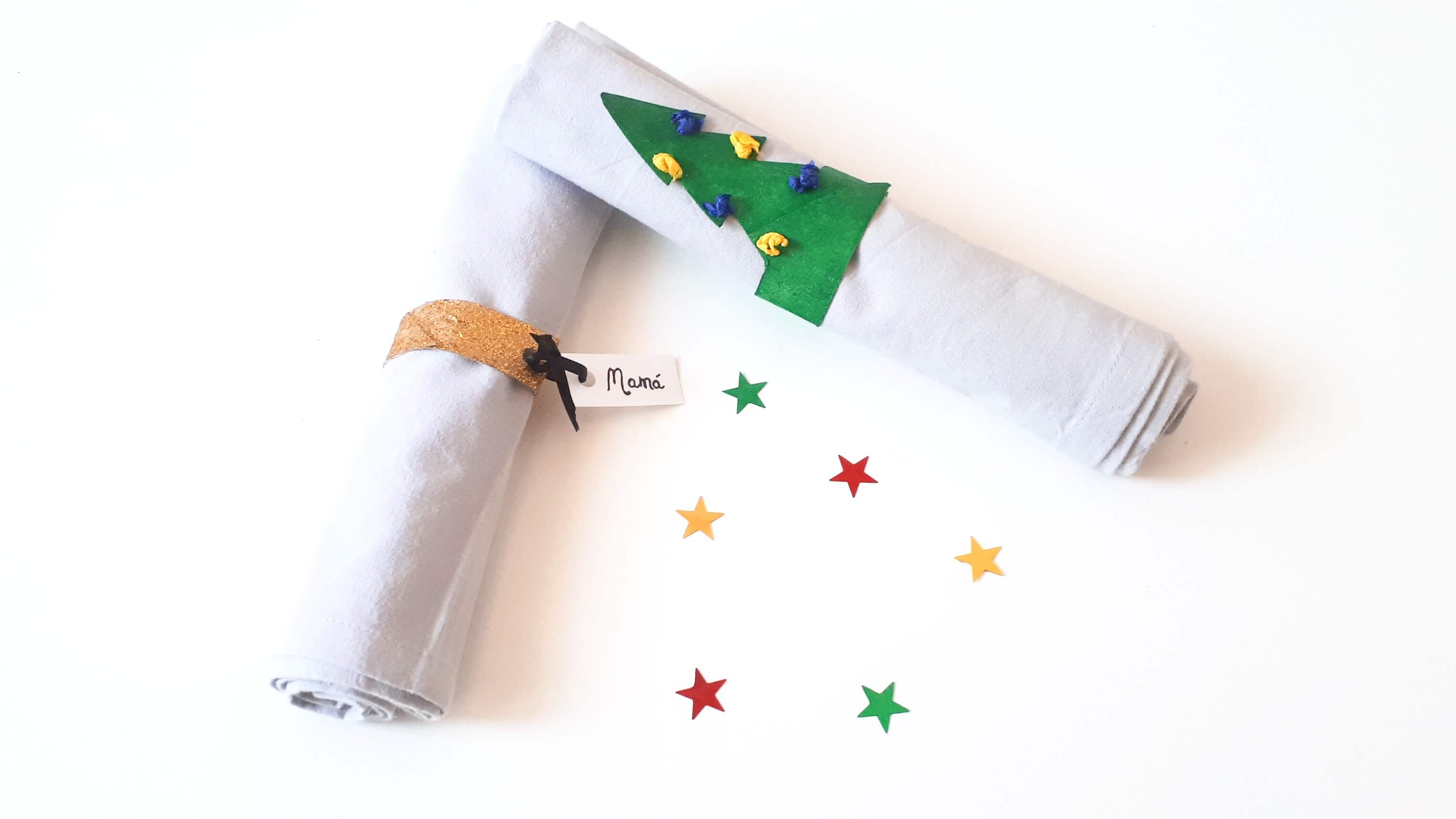 servilleteros navideños manualidades para niños