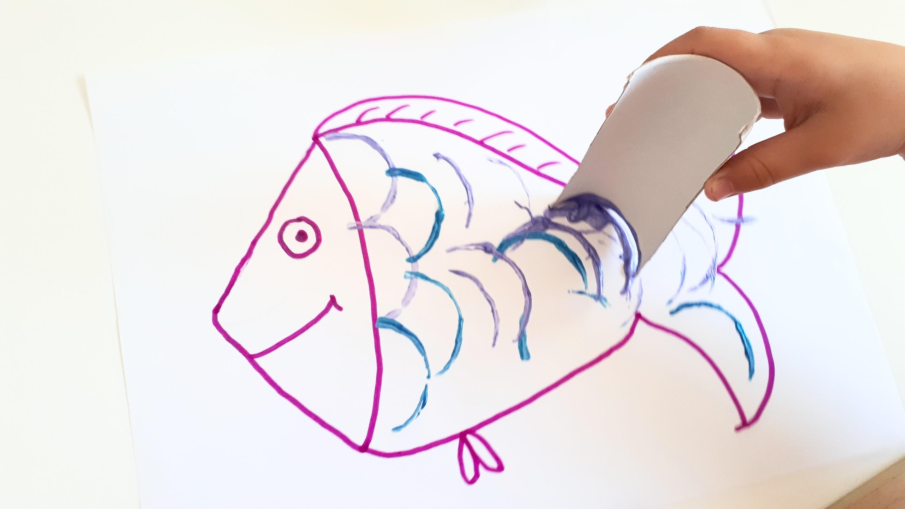 manualidades con rollos de papel para niños