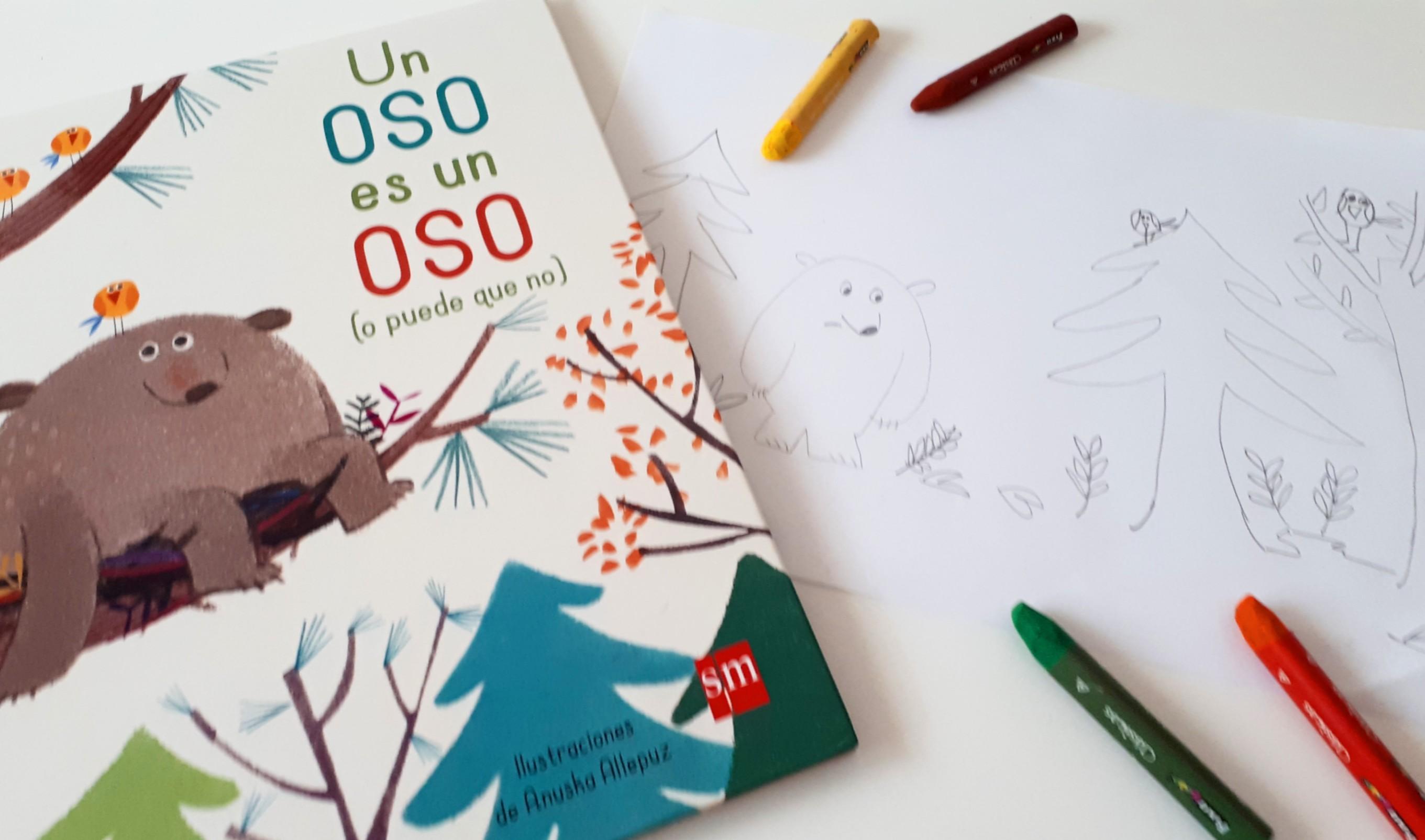 actividad con libro niños