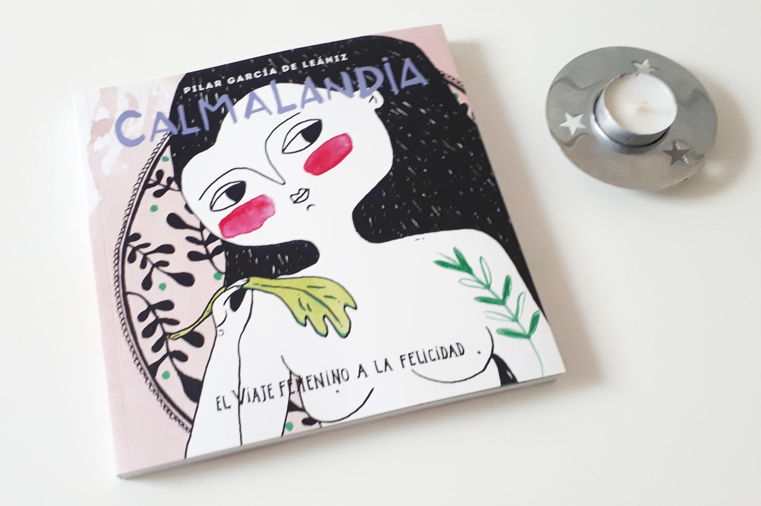calmalandia libro autocuidado mujer