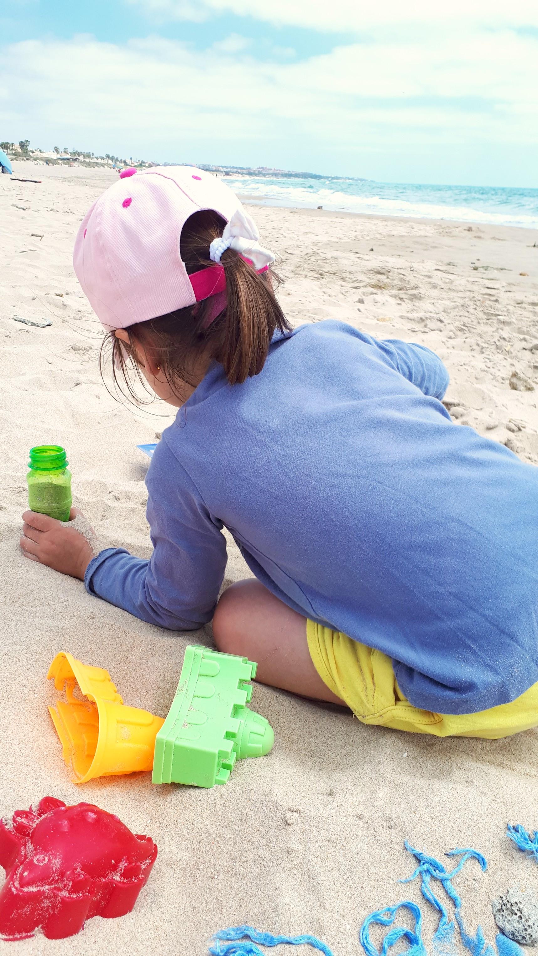 consejos playa con niños