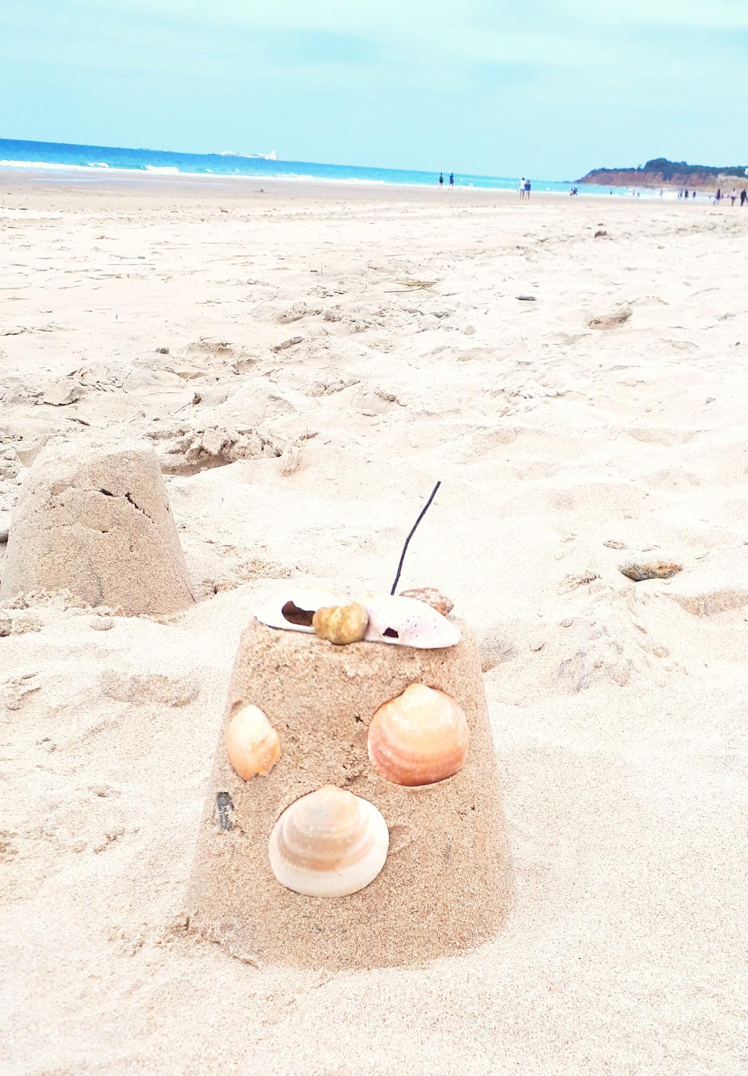 trucos para ir a la playa con niños