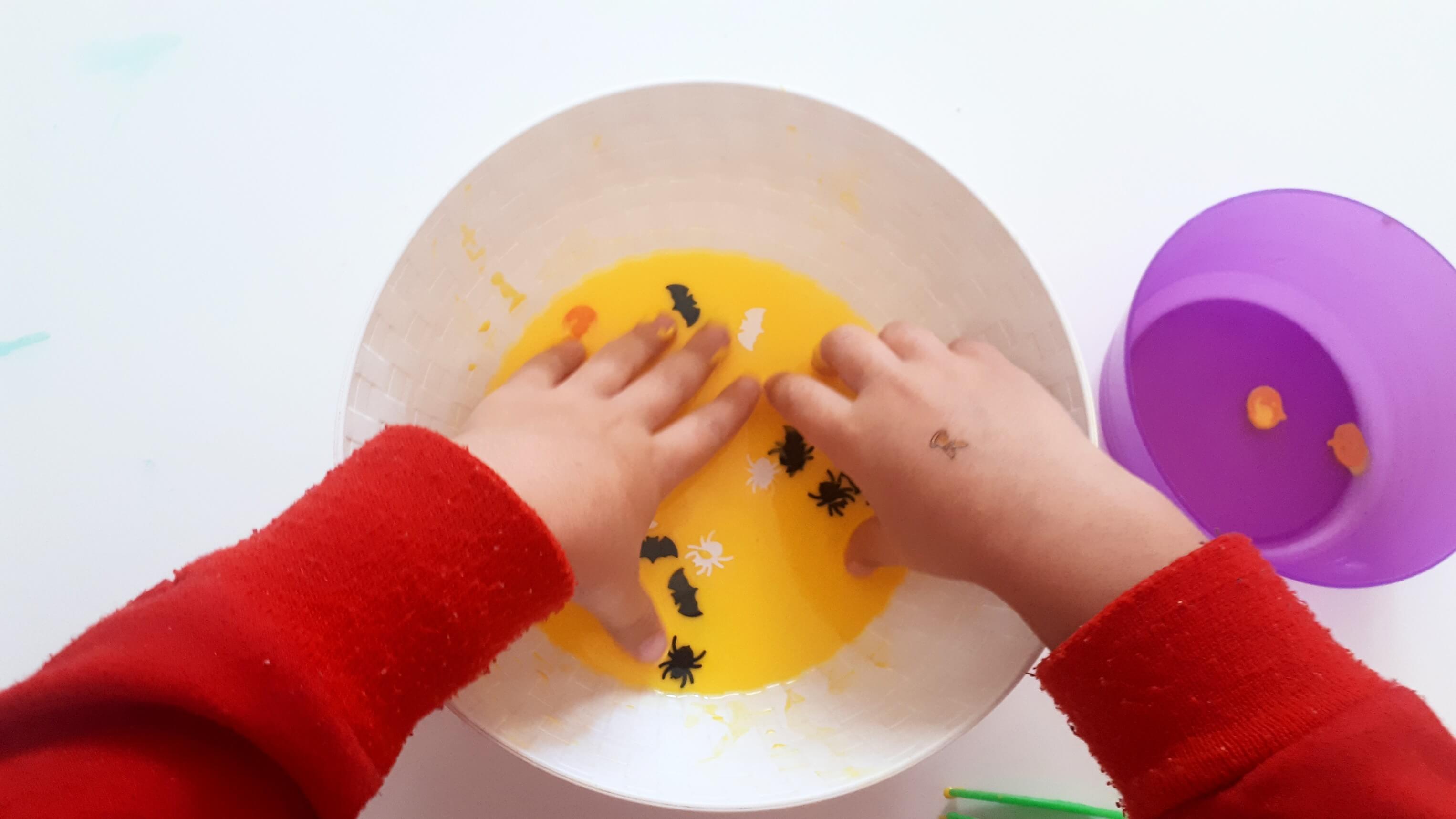 actividad sensorial para niños
