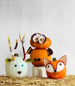 como decorar calabazas en halloween
