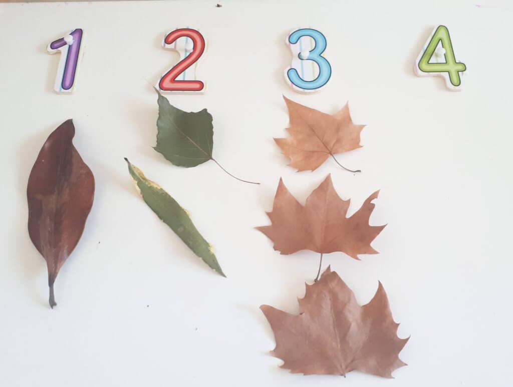 otoño para niños