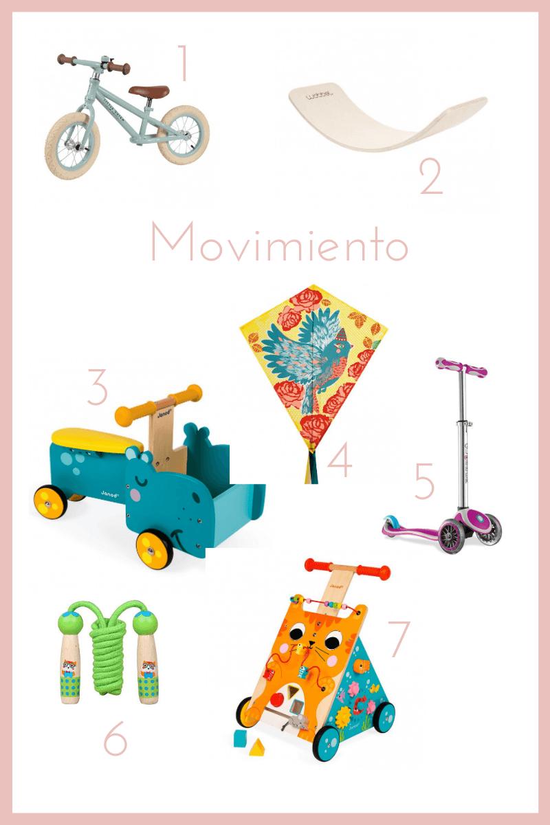 juguetes movimiento libre