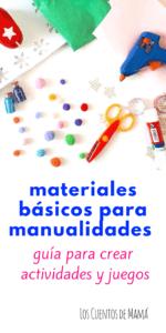 Materiales para manualidades