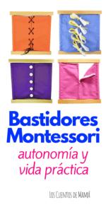 Montessori bastidores