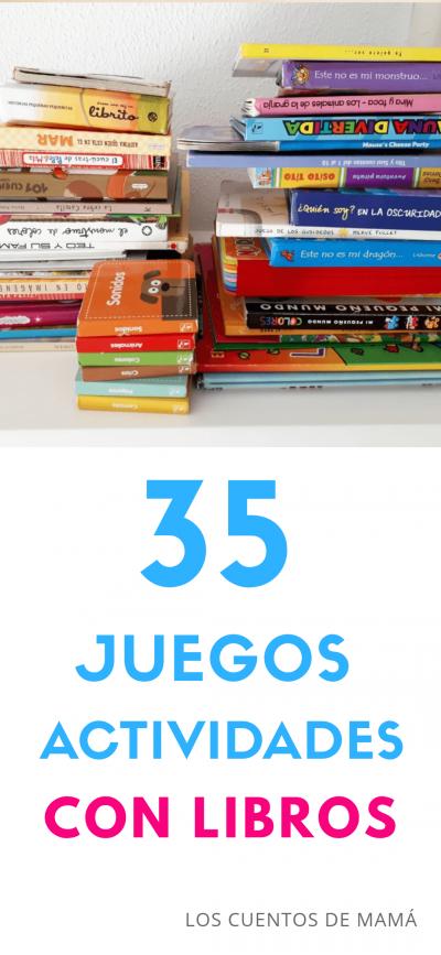 juegos y actividades con libros