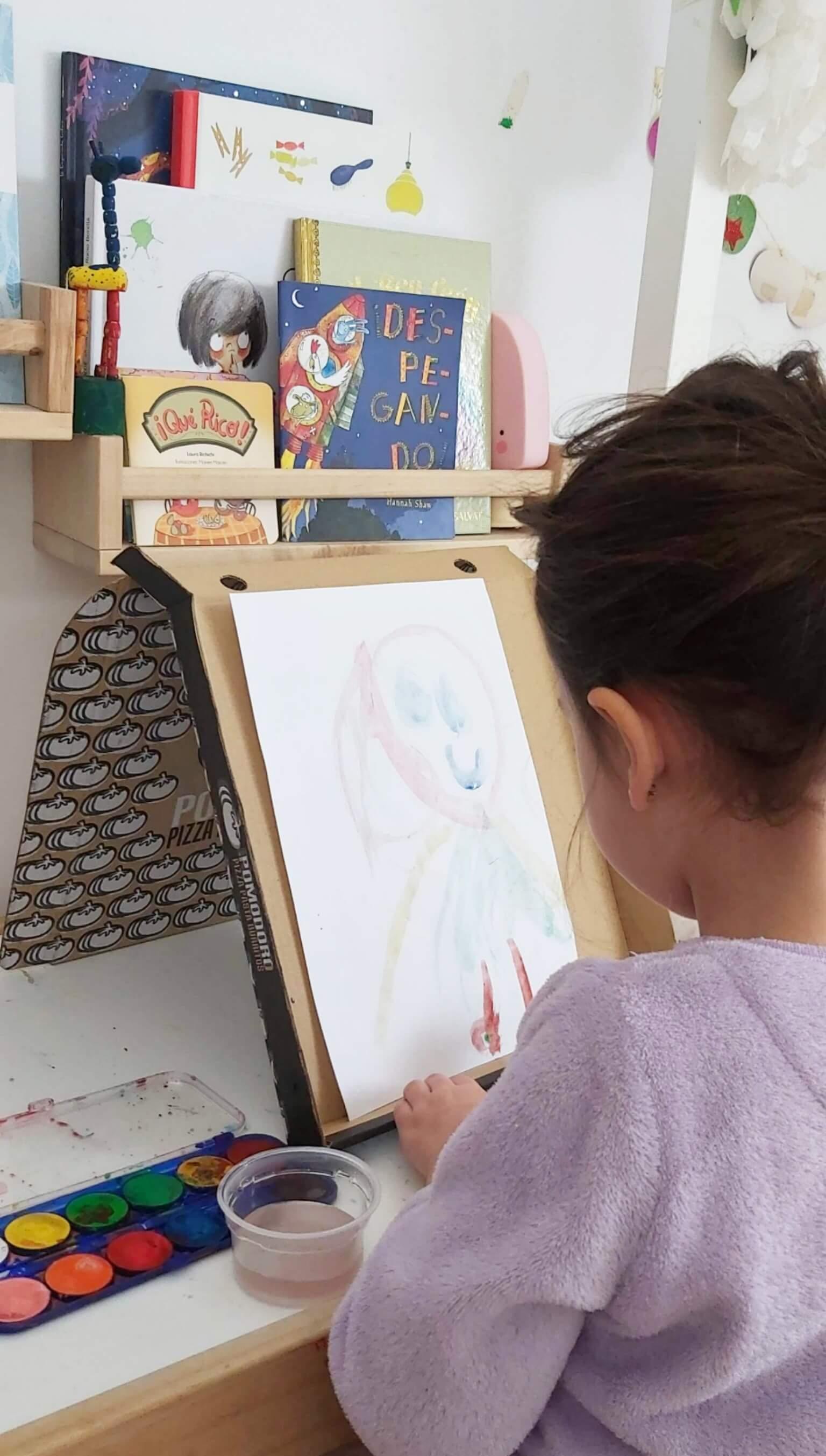 Ideas para pintar en vertical