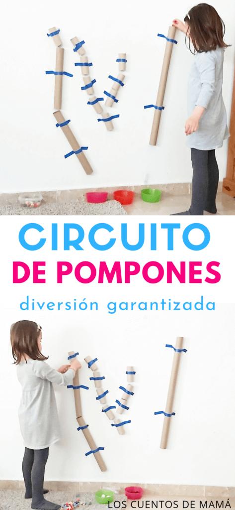 circuito de pompones