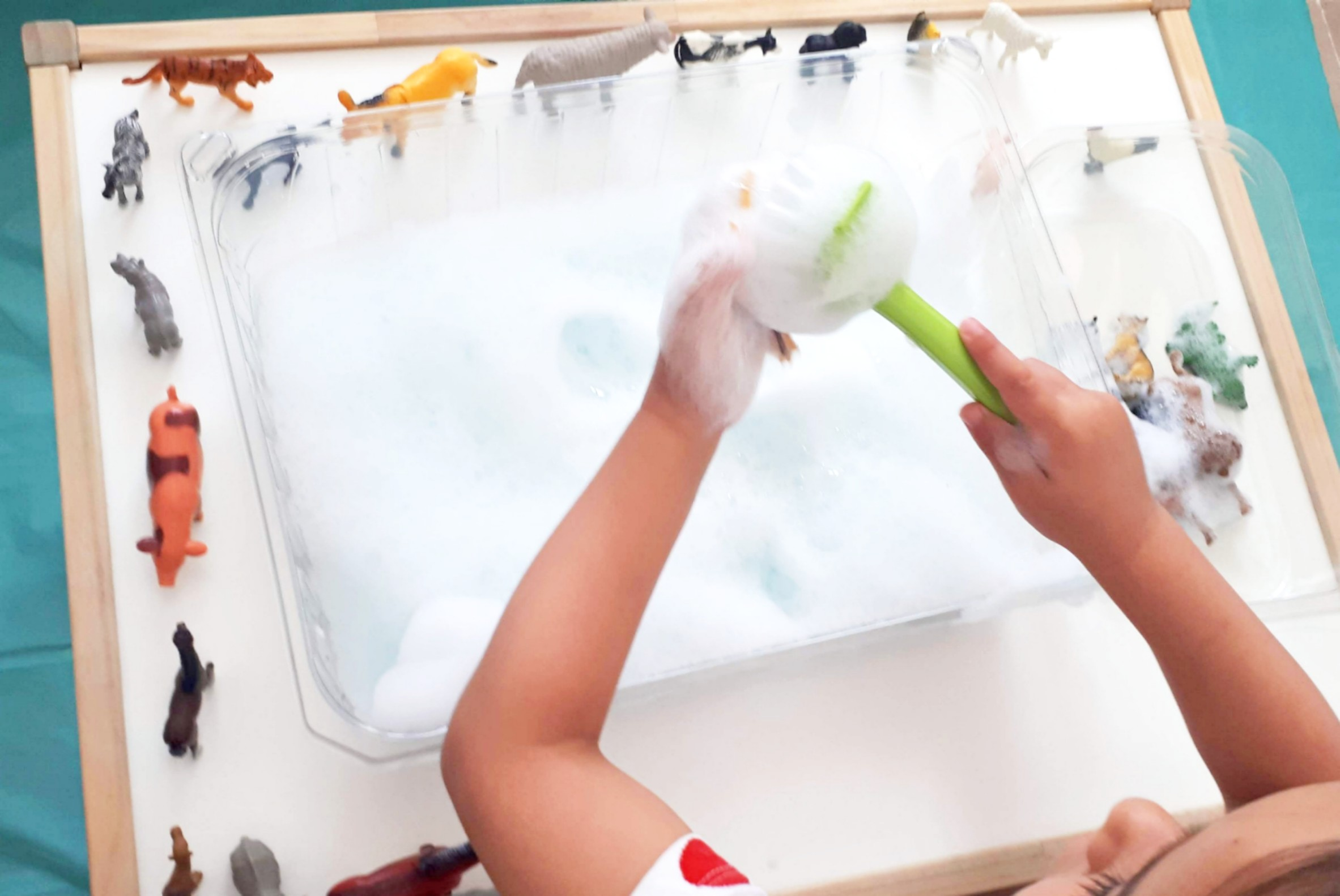 super espuma de jabón