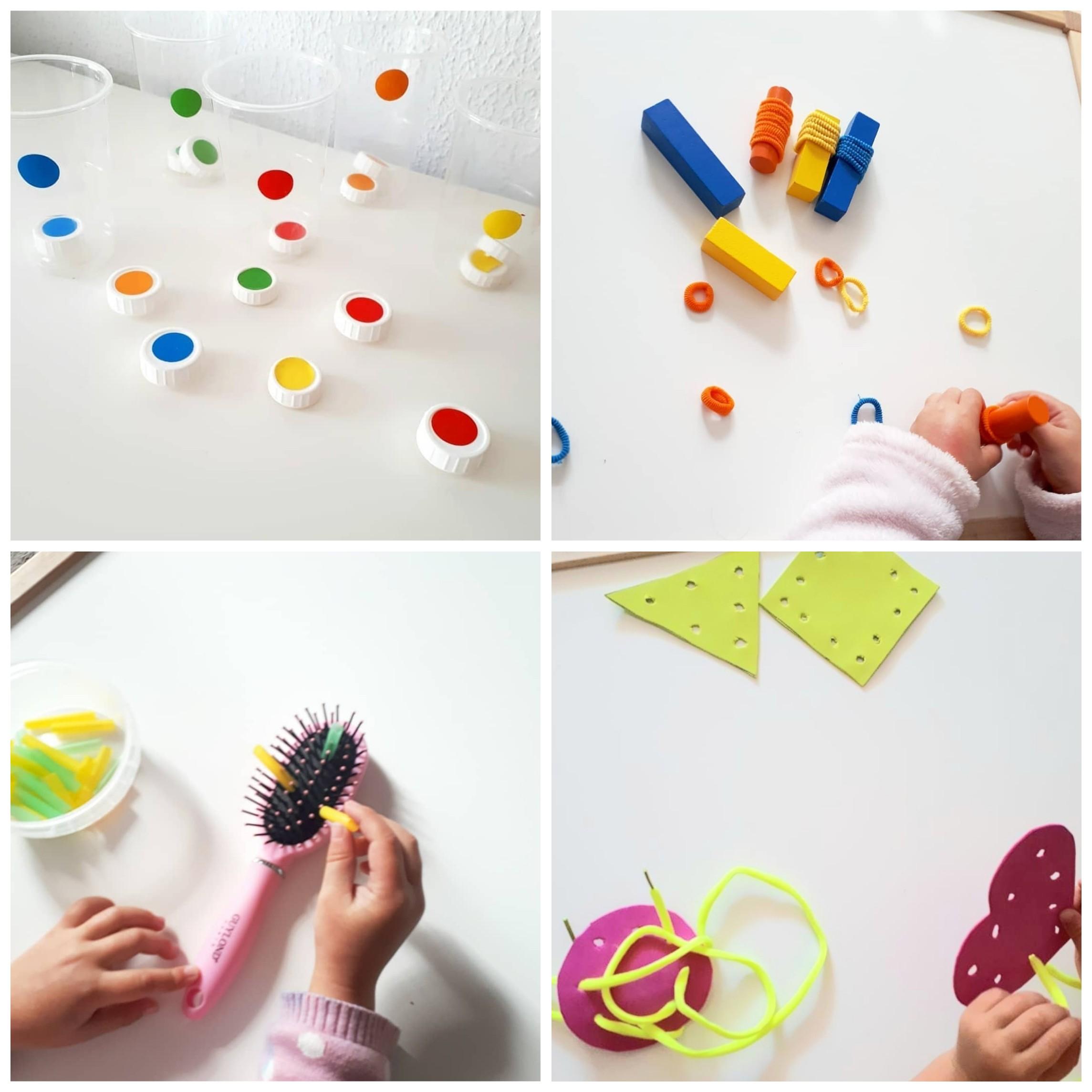 actividades para niños motricidad fina
