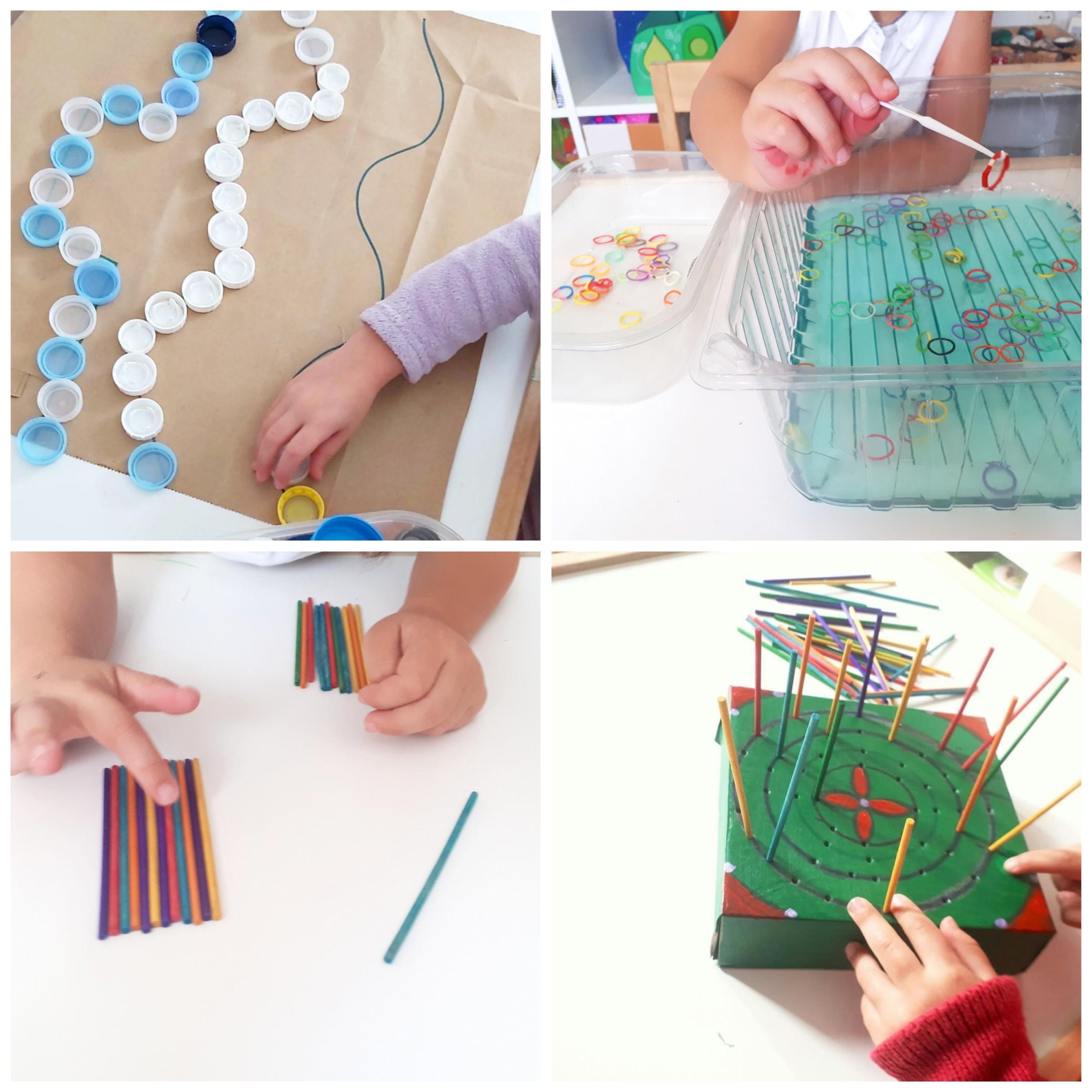 juegos de motricidad fina para niños