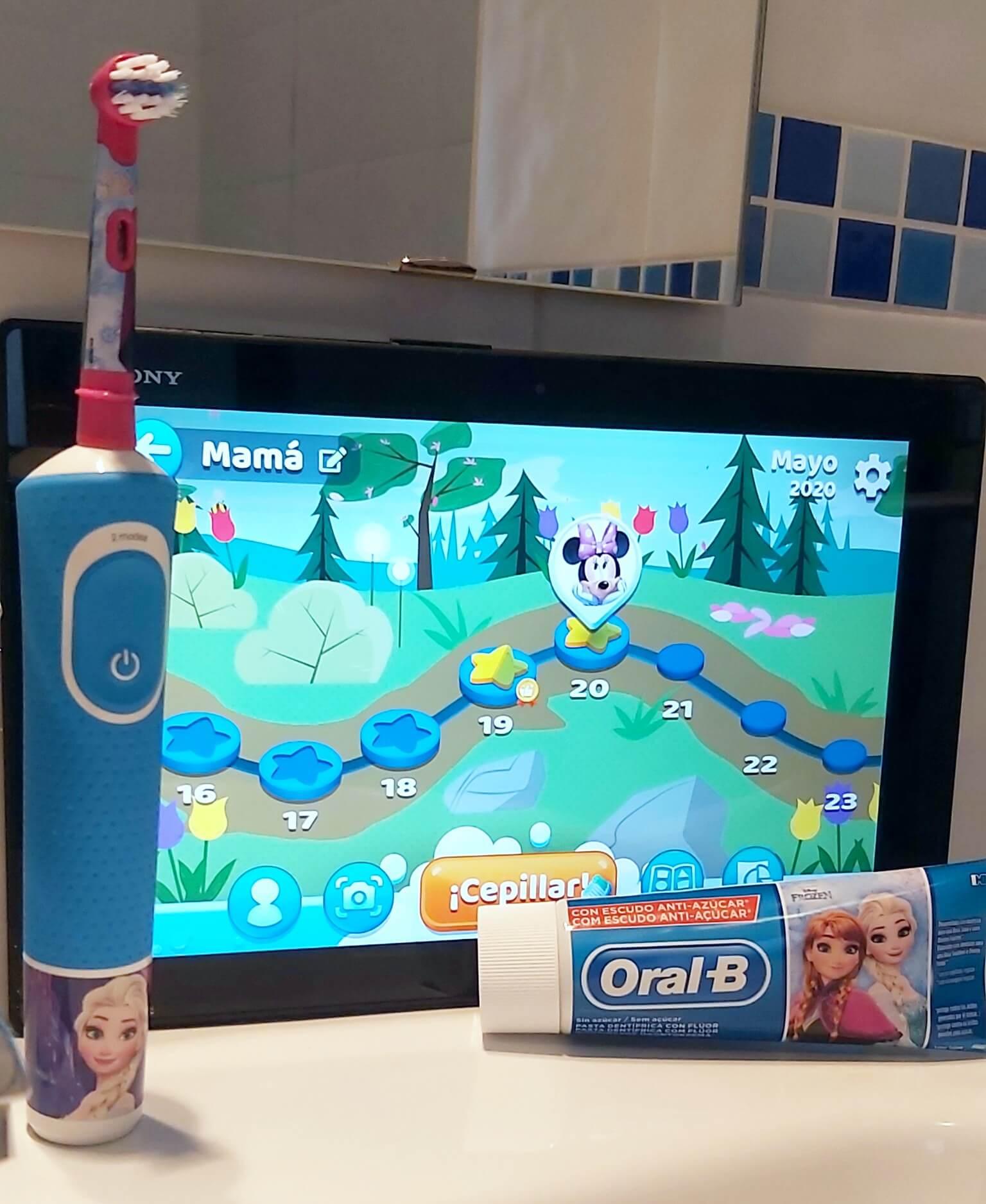 cepillo dientes electrico infantil