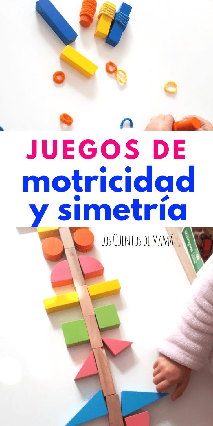 juegos de simetria y motricidad para niños