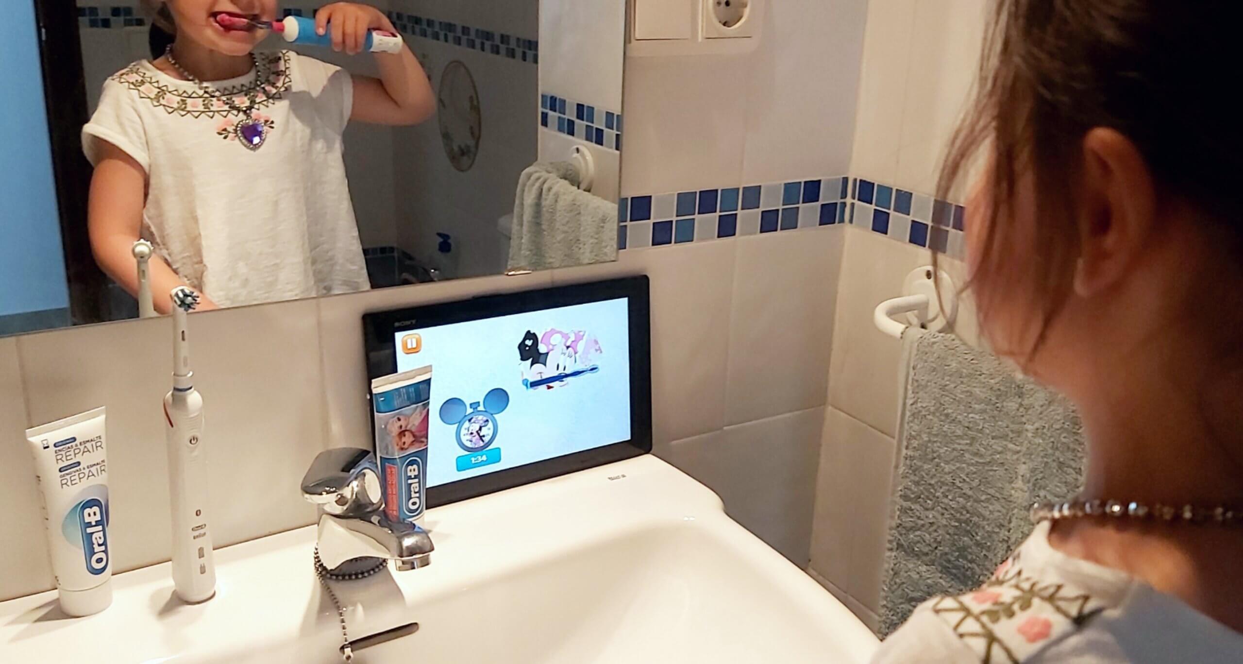 como lograr que los niños se laven los dientes