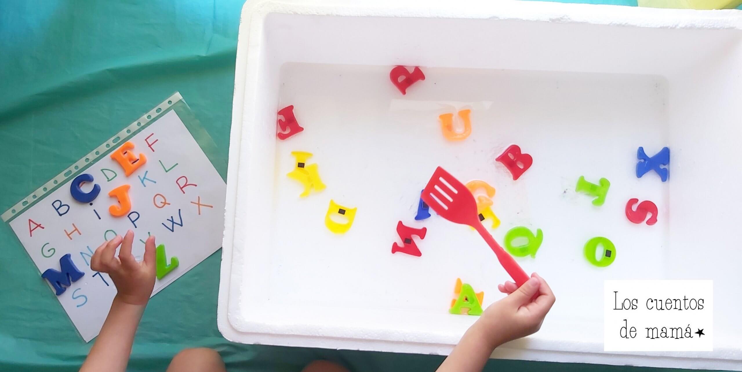 como enseñar el abecedario