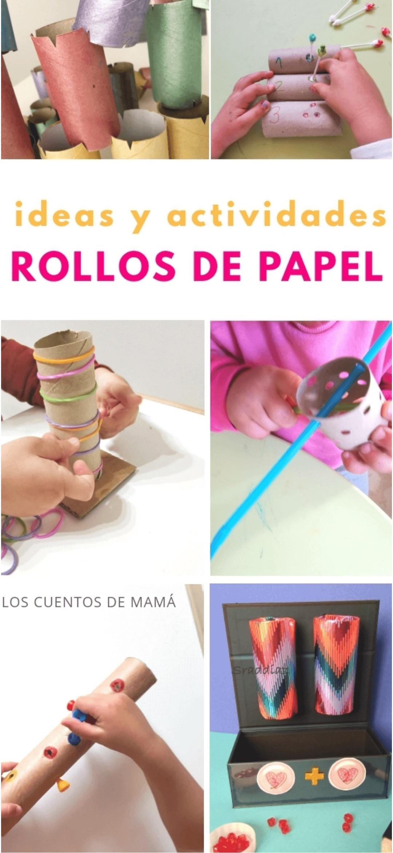 reciclar rollos de papel