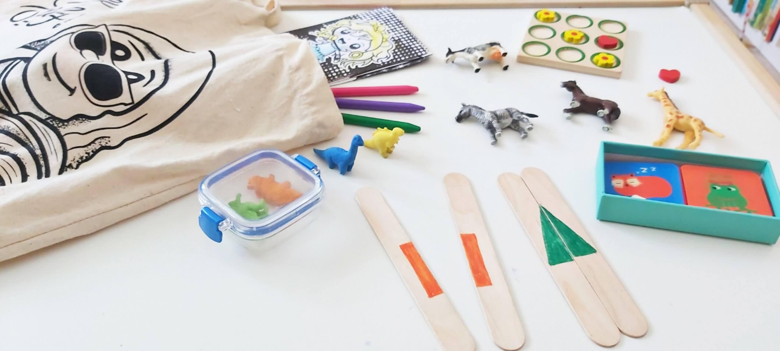 ideas de juegos para ir de viaje con niños