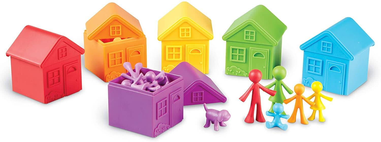 juego ordenar color y tamaño
