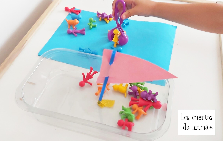 actividades motricidad fina para niños