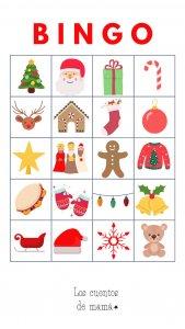 bingo navidad niños