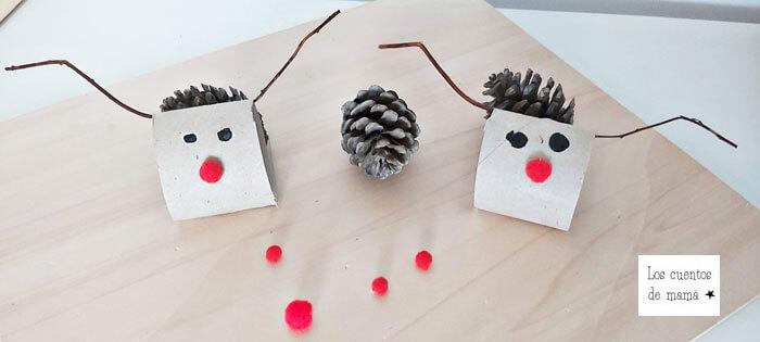 adornos navideños faciles para hacer con niños