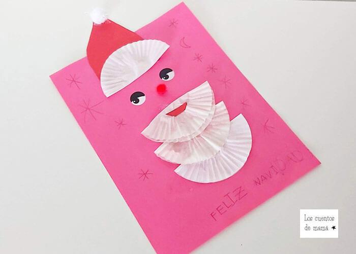 felicitaciones de navidad para hacer con niños