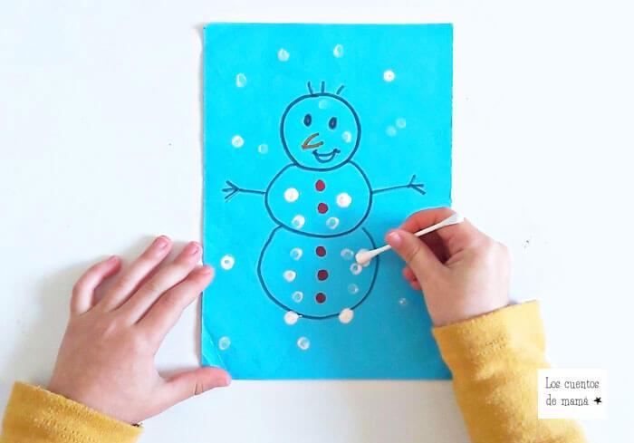 actividades para hacer con niños en invierno