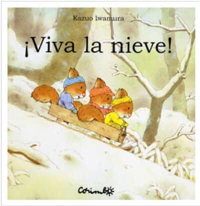 libros para niños sobre el invierno