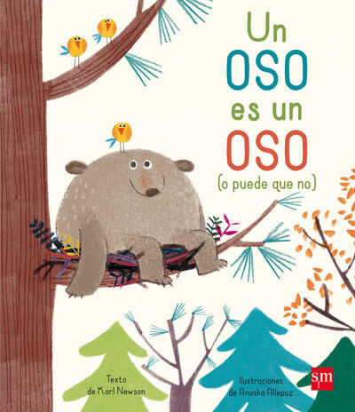 un oso es un oso libro infantil