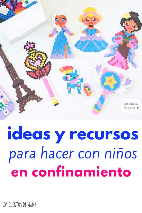 ideas para niños en confinamiento