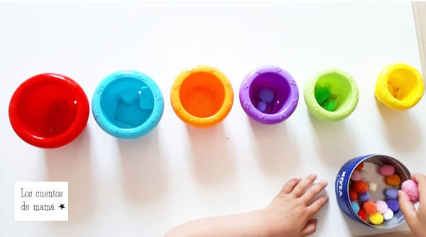 juegos infantiles para aprender los colores