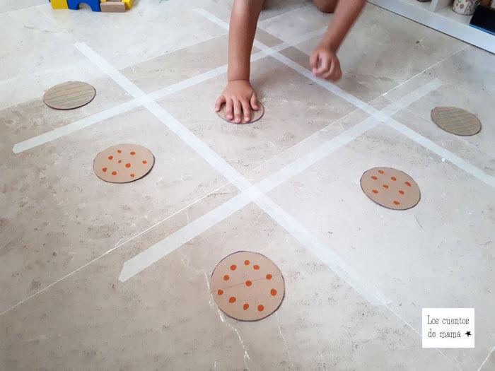 actividades de motricidad gruesa para niños en casa