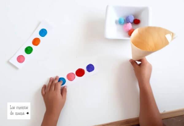 actividades infantiles para aprender los colores