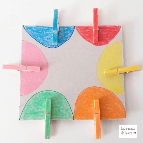 actividades para niños para aprender los colores