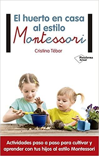 libro huerto montessori para niños
