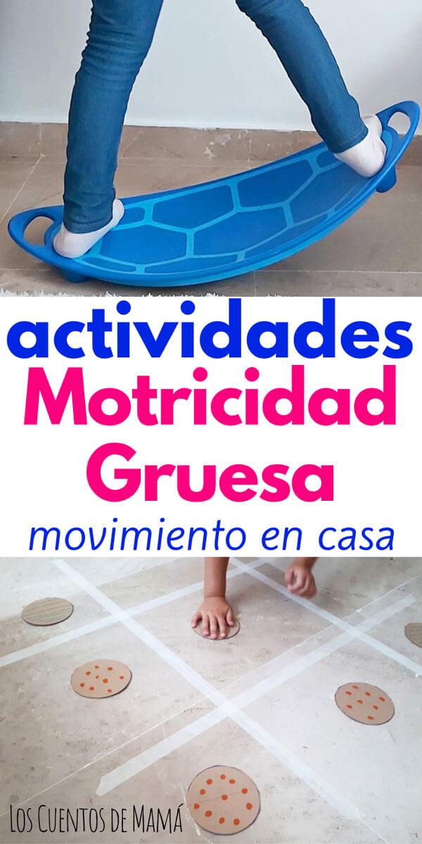 juegos de movimiento en casa para niños