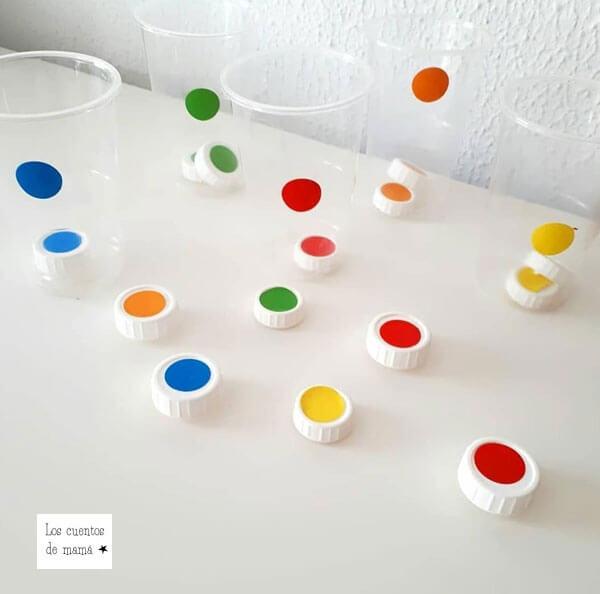 enseñar a los niños los colores
