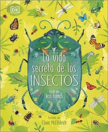 libro sobre insectos para niños